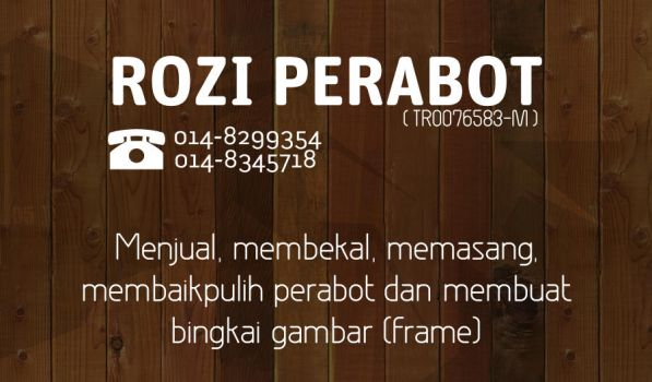 Rozi Perabot Business Card by paskalion