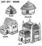 LOST CITY - Houses by DaBrandonSphere