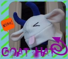Goat Hat by of-the-sheikas