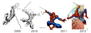 Spidey 2009-2012 by ParisAlleyne