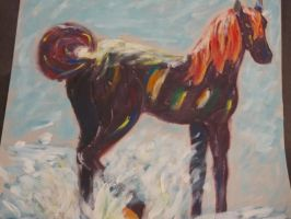 Horse Painting ::Fail:: by ShadGirl654