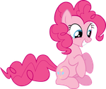 Pinkie Pie Vector 2 by scrimpeh