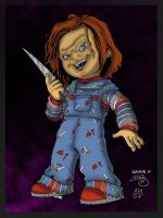 Chucky (Child's Play ) by enigma004