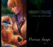 Kingdom Carousel Art book Preview by Lilaccu