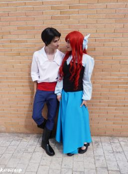 Ariel and Eric - The Little Mermaid (II) by ExionYukoCosplay