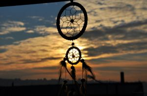 Dreamcatcher/Sunset by LenaAntidote