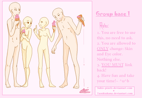 .Group Base 1:withicecream:. by Sukis-Pixels