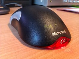 Microsoft mouse by l15ard