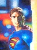 Superman - Brandon Routh by aaronwty
