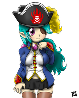 Crystal The Pirate by Mr-Shin