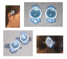 Avatar the Last Airbender: Yue's Hair Clips by noonetells