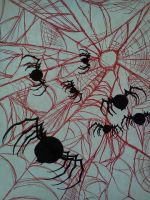 Mad Carnival: Spider Wall by Kongzilla2010