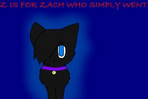 Z is for Zach Who Simply Went by snowiinq
