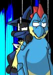 Dr Lucario and Dr Feraligatr by MasaBear