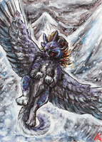 aboveClouds ACEO by Kirsch-vanderWit
