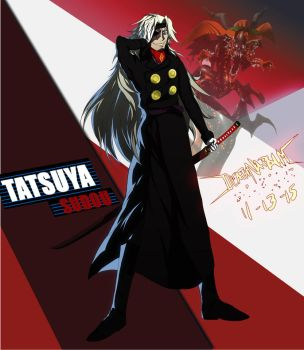 Commission: Tatsuya Sudou -Persona 4 Arena Ultimax by DeathNapalm