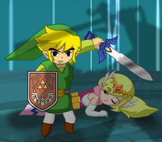 Wind Waker - Final Battle by Dbzbabe