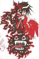 Black Dog - Hellsing Ultimate by onewingedjrocker
