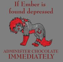 If Ember is depressed by FalseBeing
