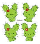 Cactus Bunny by Daieny