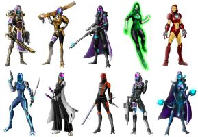 Imagery of Tali (x10) part2 by spaceMAXmarine