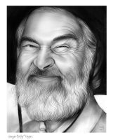 Gabby Hayes by gregchapin