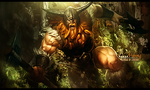 Olaf-viking-league-of-legends by TAKASIKYO
