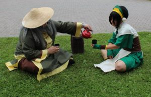 Tea with uncle Iroh 1 by Punkkis-chan