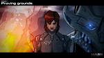 ME:S - Ch1: Proving grounds (Illustration) by Quinn-G