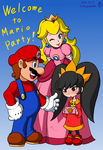 Ashley in Mario Family by doctorWalui