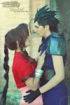 Aerith and Zack cosplay by LauraNikoPhantomhive