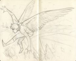 Moleskine sketches 3 by hollyoakhill