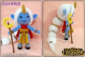 Soraka - League of legends amigurumi doll by zulemax