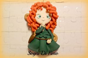 Merida Fimo Ribelle-The brave by SogniDiFimoCReazioni