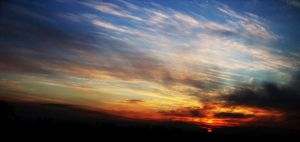 Sky On Fire by cementine