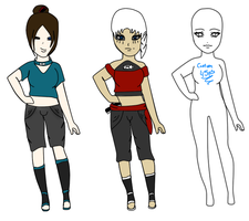 Kagura clan adoptables:batch 1: by FallenAngelRei-sama