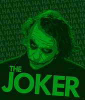 The Joker - The Dark Knight - Heath Ledger by skauf99