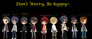 Dont Worry Be Happy by BottledButterfly