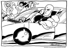THE PICC AND THE FURIOUS by PICCIONCINEMA