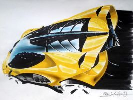 LAMBO SKETCH by patricio-automotive