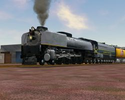MSTS Union Pacific 844 in Grey by 736berkshire