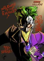 The Joker by TheCartoonLoon