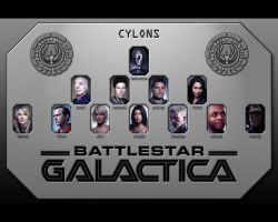 Cylon Models by MitchellLazear