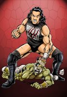 Luchadores V.S. Zombies JAM by nebrag