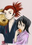 BLEACH - young renji n rukia by tennenrishin