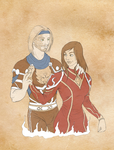 Commission: Loras and Adenah by SketchyBailey