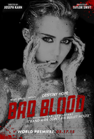 Bad Blood Miley Cyrus Album Cover by BayanAwassy