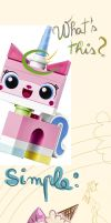 Unikitty explains by Ask-Emmet-Lego