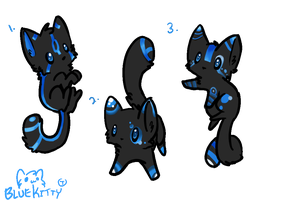 Blue Kitty Adopts CLOSED by Skullz-adopts