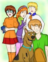 Scooby Doo  And The Gang by NiniJohnson08